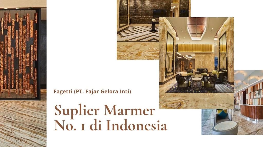 Fagetti Sebagai Supplier Marmer Nomor Satu di Indonesia